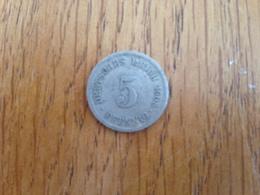 5 Pfennig 1914 A - Germany - [ 2] 1871-1918 : Imperio Alemán