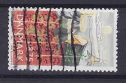Denmark Perfin Perforé Lochung (P34) 'POL' Politikens Hus, København (Newspaper) (Mi. 1034) (2 Scans) - Abarten Und Kuriositäten