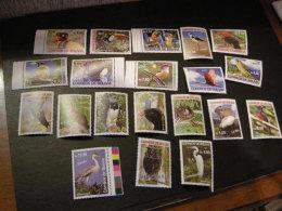 Bolivia 2007 Birds Of Bolivia Marks - Bolivia