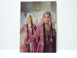 The Ensemble Of Folk Dance Of Georgia 1973 Artists. Dance. Girl. Georgian Costume 4 - Georgia