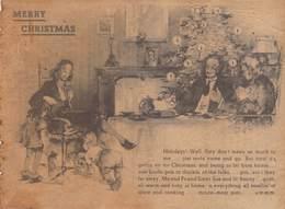WWII WW2 German Propaganda Leaflet Tract Flugblatt, Code A., MERRY CHRISTMAS,  FREE SHIPPING WORLDWIDE - Vieux Papiers