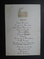 LOT 45 MENUS (V1717) BELGIQUE (2 Vues)  Fin 19ème Début 20ème Siècle Belle Ensemble - Menus