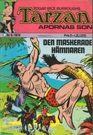 Tarzan Apornas Son Nr 4 - (In Swedish) Williams Förlags - Den Maskerade Hämnaren - 1974 - John Celardo - BE - Langues Scandinaves