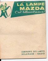 Carnet Bloc Feuillet MAZDA  (PPP14609) - Advertising