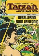 Tarzan Apornas Son Nr 5 - (In Swedish) Williams Förlags - Rebellerna Från Cristonia - 1974 - John Celardo - BE - Livres, BD, Revues