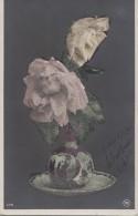 Matériaux Différents - Fantaisie - Roses - Petites Billes Translucides - Datée Bilbao 1905 - Ansichtskarten