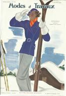 Modes Et Travaux, 1 Decembre 1934, No.359 + Supplement - Fashion