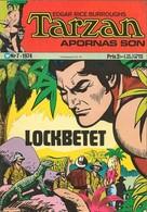 Tarzan Apornas Son Nr 7 - (In Swedish) Williams Förlags - Lockbetet - 1974 - John Celardo - BE - Livres, BD, Revues