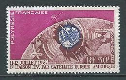 POLYNÉSIE 1962 . Poste Aérienne  N° 6 . Neuf  (*) Sans Gomme . - Unused Stamps