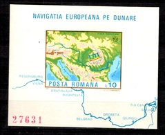 Roumanie Bloc-feuillet YT N° 130A Non-dentelé Neuf ** MNH. TB. A Saisir! - Blocs-feuillets