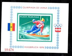 Roumanie Bloc-feuillet YT N° 123A Non-dentelé Neuf ** MNH. TB. A Saisir! - Blocks & Kleinbögen