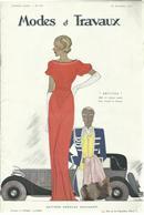 Modes Et Travaux, 1 Novembre 1933, No.333 - Fashion