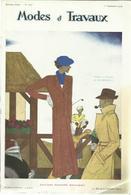Modes Et Travaux, 1 Septembre 1934, No.353 + Supplement - Fashion