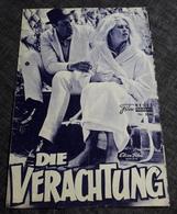 """Altes NFP-Filmprogramm (gelocht) - BRIGITTE BARDOT In """"Die Verachtung"""" Mit Jack Palance, FRITZ LANG ... - 181446 - Magazines"""