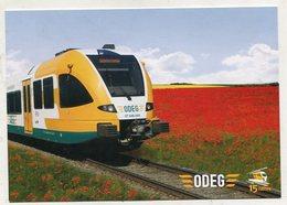 TRAIN - AK 330955 ODEG - Gelenktriebwagen GTW 2/6 - Trains