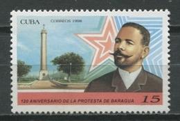Cuba 1998 / Baragua Protest MNH Protesta De Baraguá / Cu9122  C3 - Cuba