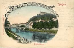 Ljubljana Lujubljanski Grad - Slovénie