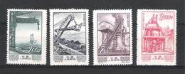 Chine - Lot Timbres 1954  Neufs Sans Gomme - 1949 - ... Volksrepublik