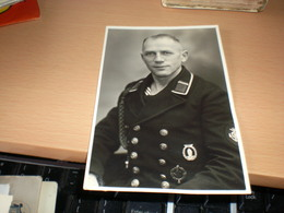 Nazy Germany WW2 Foto Hubert Hasse Wilhelmshaven Fernruf 1943 - 1939-45