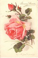 Thèmes - Illustrateurs -  Klein, Catharina - Roses - Fleurs - Bonne Année - Klein, Catharina