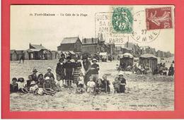 FORT MAHON 1927 LA PLAGE CARTE EN TRES BON ETAT - Fort Mahon