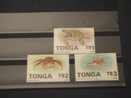 TONGA - 1994 FAUNA MARINA  3 VALORI - NUOVO(++) - Tonga (1970-...)