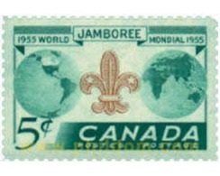 Ref. 250395 * HINGED * - CANADA. 1955. 8th WORLD JAMBOREE IN NIAGARA . 8 JAMBOREE MUNDIAL EN NIAGARA - Unclassified