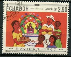 Ecuador 1967 2.50s  Christmas  Issue #765e  CTO - Ecuador