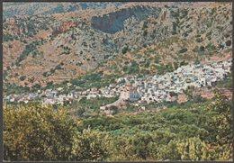 General View Of Kritsa, Crete, C.1960s - Raphaelakis & Nicolaos Postcard - Greece