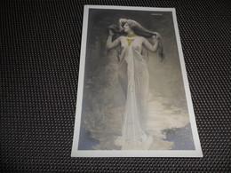 Femme ( 975 )  Vrouw   Artiste  Artiest Phryné  Seins Nus  Nu  Naakt  Femme érotique - Artistes