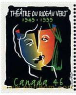 Ref. 51041 * MNH * - CANADA. 1999. 50 ANIVERSARIO DEL TEATRO DE RIDEAU VERT - Unused Stamps