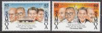 SAMOA, 1986 XMAS/PEACE CORPS 2 MNH - Samoa