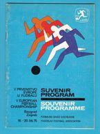 UEFA EURO 1976. ( 5th European Football Championship ) Official Programme * Soccer Fussball Futbol Calcio Foot Programm - Apparel, Souvenirs & Other