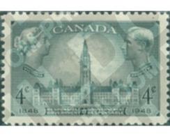 Ref. 129644 * MNH * - CANADA. 1948. CENTENARIO DEL GOBIERNO AUTONOMO - 1937-1952 Règne De George VI