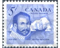 Ref. 129837 * MNH * - CANADA. 1963. SIR MARTIN FROBISHER, EXPLORADOR DEL NORTE - 1952-.... Règne D'Elizabeth II