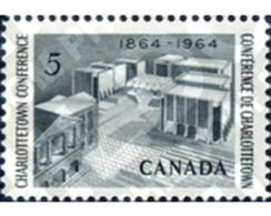 Ref. 129860 * MNH * - CANADA. 1964. CENTENARIO DE LA CONFERENCIA DE CHARLOTTETOWN - Unused Stamps