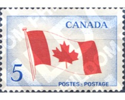 Ref. 129886 * MNH * - CANADA. 1965. NATIONAL FLAG . BANDERA NACIONAL - Flags