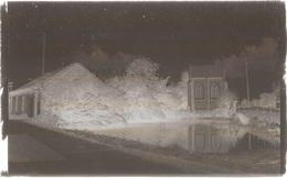 Dépt 80 - ÉQUENNES-ÉRAMECOURT - PLAQUE De VERRE (négatif Photo Noir & Blanc, Cliché R. Lelong) - MARE Et CHAPELLE - France