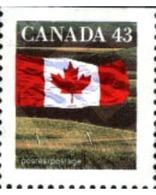 Ref. 197273 * MNH * - CANADA. 1992. FLAG . BANDERA - Unused Stamps