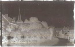 Dépt 80 - BEAUCAMPS-LE-JEUNE - PLAQUE De VERRE (négatif Photo Noir & Blanc, Cliché R. Lelong) - L'ÉGLISE - France