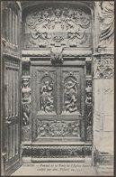 Ventail De La Porte De L'Église Saint-Pierre, Avignon, C.1910 - Neurdein CPA - Avignon