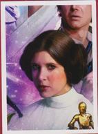 Sticker Star Wars Starwars Panini Autocollant Aufkleber Lucasfilm 2017 - Autocollants
