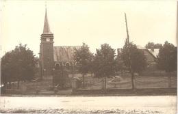 Dépt 80 - SAUVILLERS-MONGIVAL - ÉPREUVE De CARTE POSTALE (photo R. LELONG) + PLAQUE De VERRE D'origine - L'Église - PLET - France