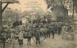 03 , A Blond , Vins A Valigny , Livraison En Gare De Vallon , CF2 * 361 66 - France