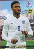 #tousensemble Road To France - Panini - Liverpool Three Lions England - N°89 - Daniel Sturridge - Trading-Karten