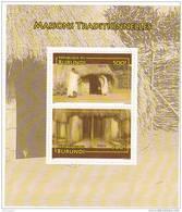 X] Mini-feuillet Mini Sheet ** Burundi House Maison Traditionnelle - 2010-..: Neufs