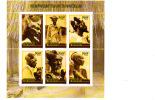 X] Feuillet** Sheet ** Burundi 2010 Coiffure Culture Hairdressing - Burundi