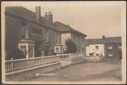 St Keverne, Cornwall, 1920 - Hawke RP Postcard - England