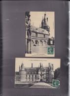 28,EURE ET LOIR, MAINTENON ,lot De 2 Cartes, Le Château - Maintenon