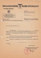 Nationalsozialistische Deutsche Arbeiterpartei - Die Deutsche Arbeitsfront - Dokument - Alte Papiere